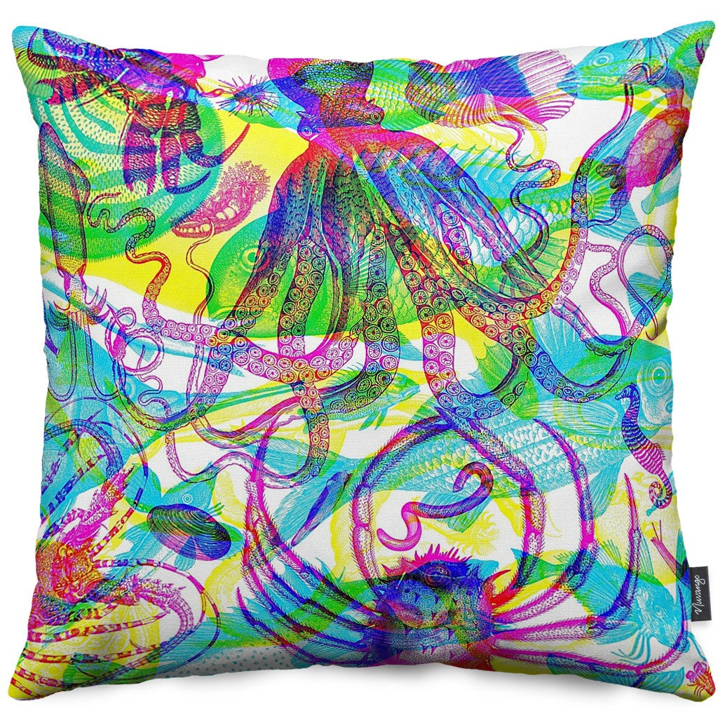 Animalia II Throw Pillow