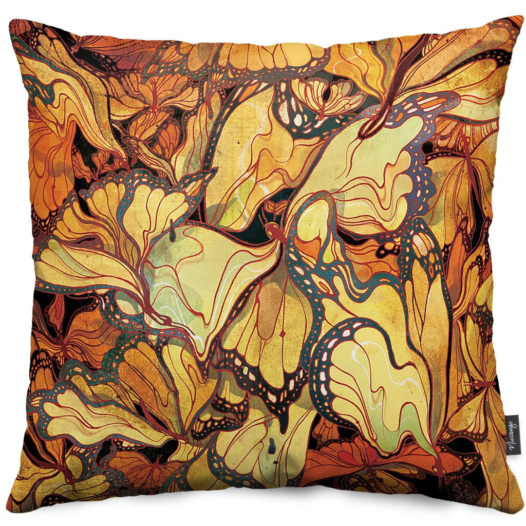 Mayfly Throw Pillow