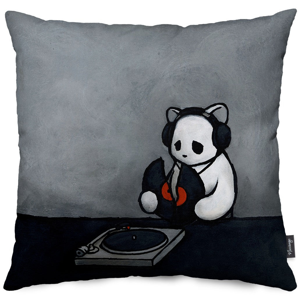 The Soundtrack (To My Life) Throw Pillow