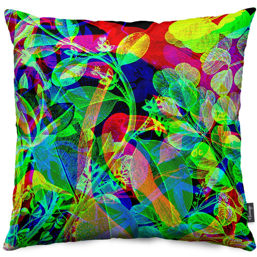 Selva Black Throw Pillow