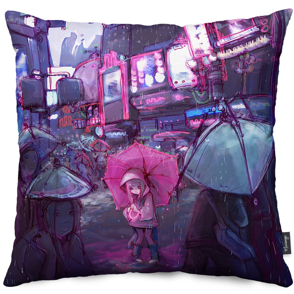 Neo New York Throw Pillow
