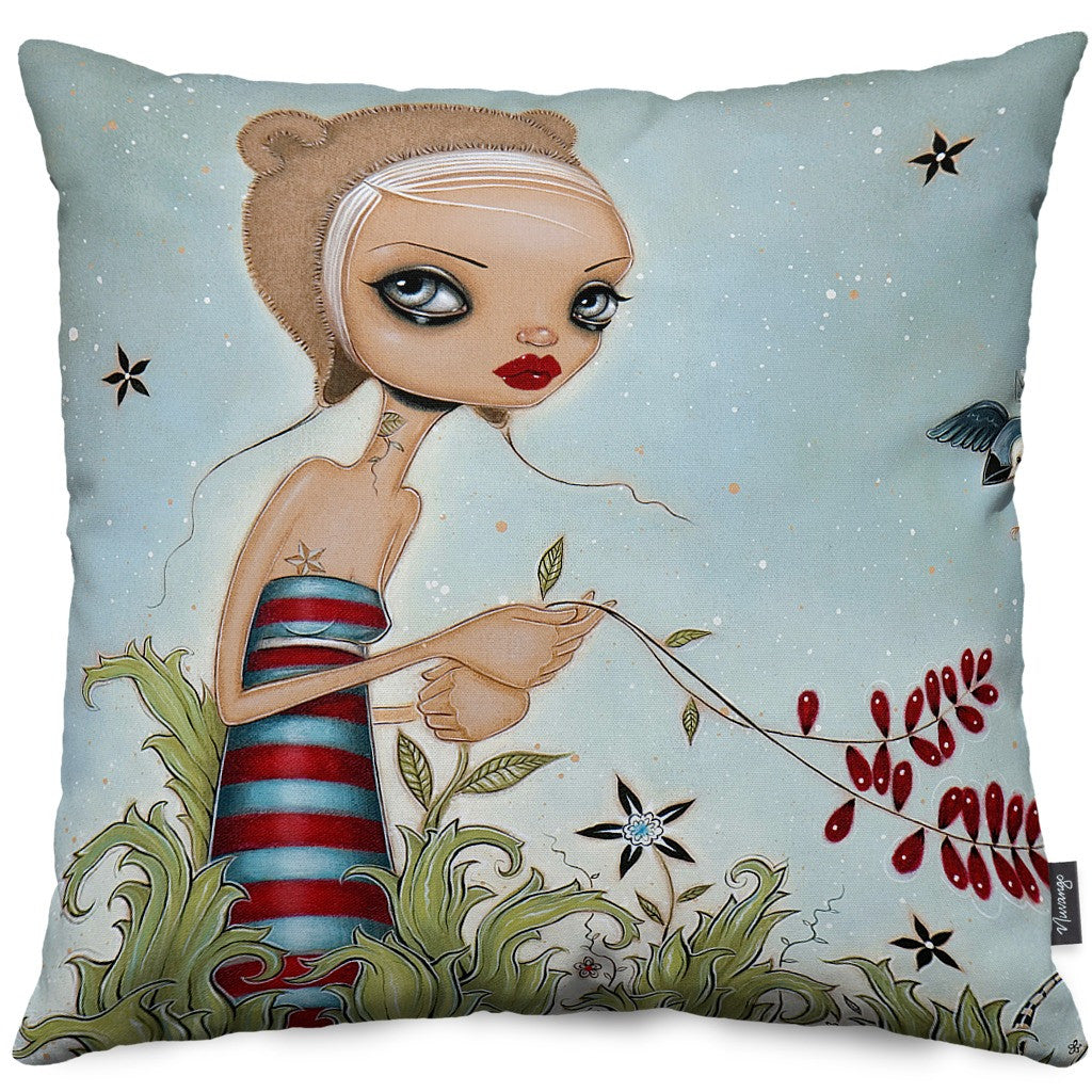 Beguiled Throw Pillow
