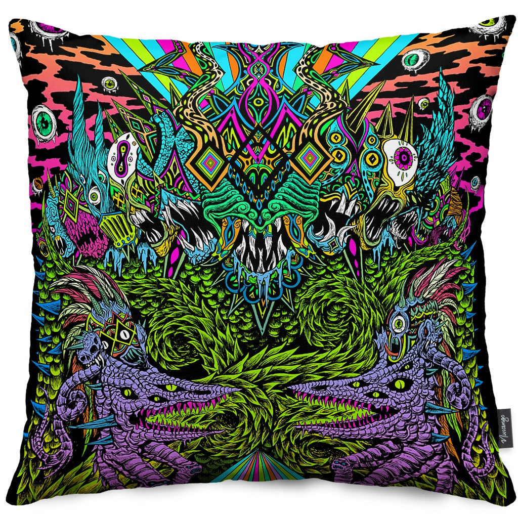 Mastadon Throw Pillow