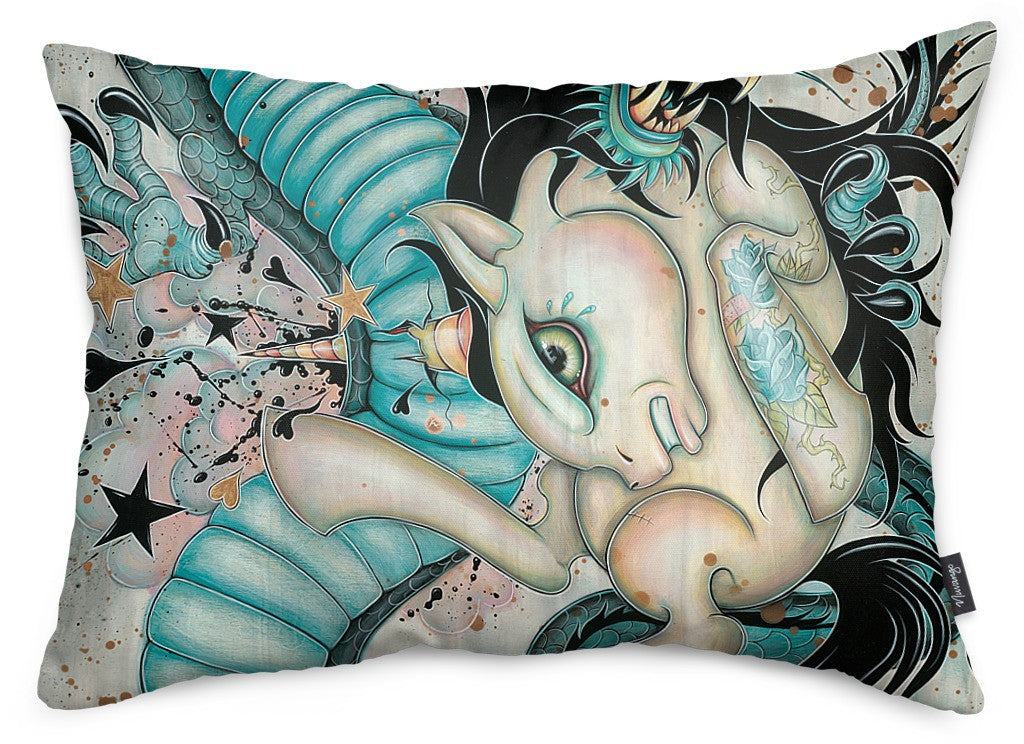 Epic Battle Throw Pillow