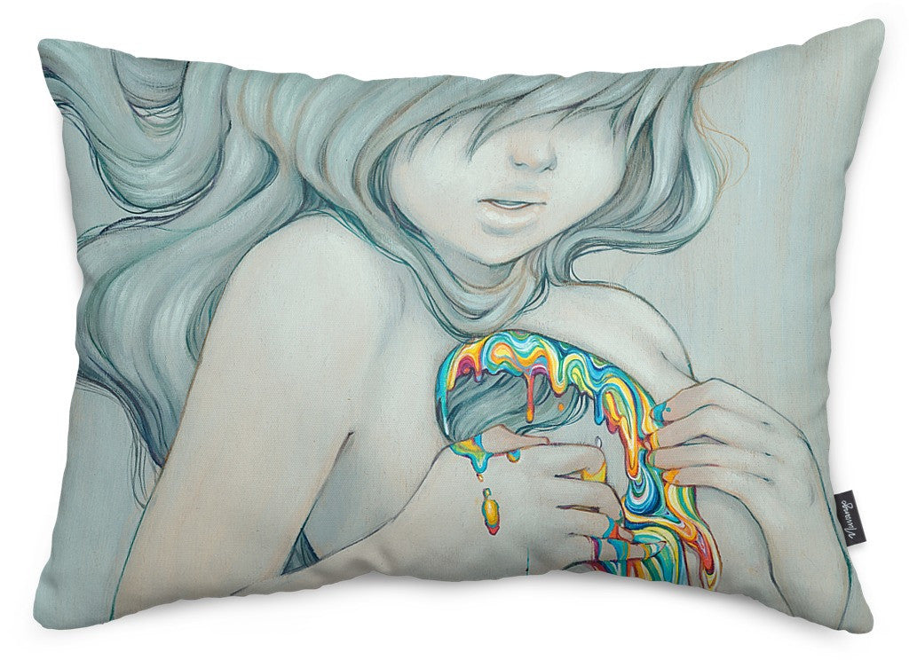 Beyond The Rainbow Throw Pillow