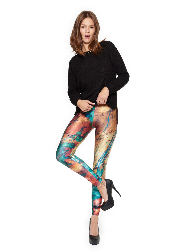 Petrified Mood Queen West Leggings - Nuvango  - 1