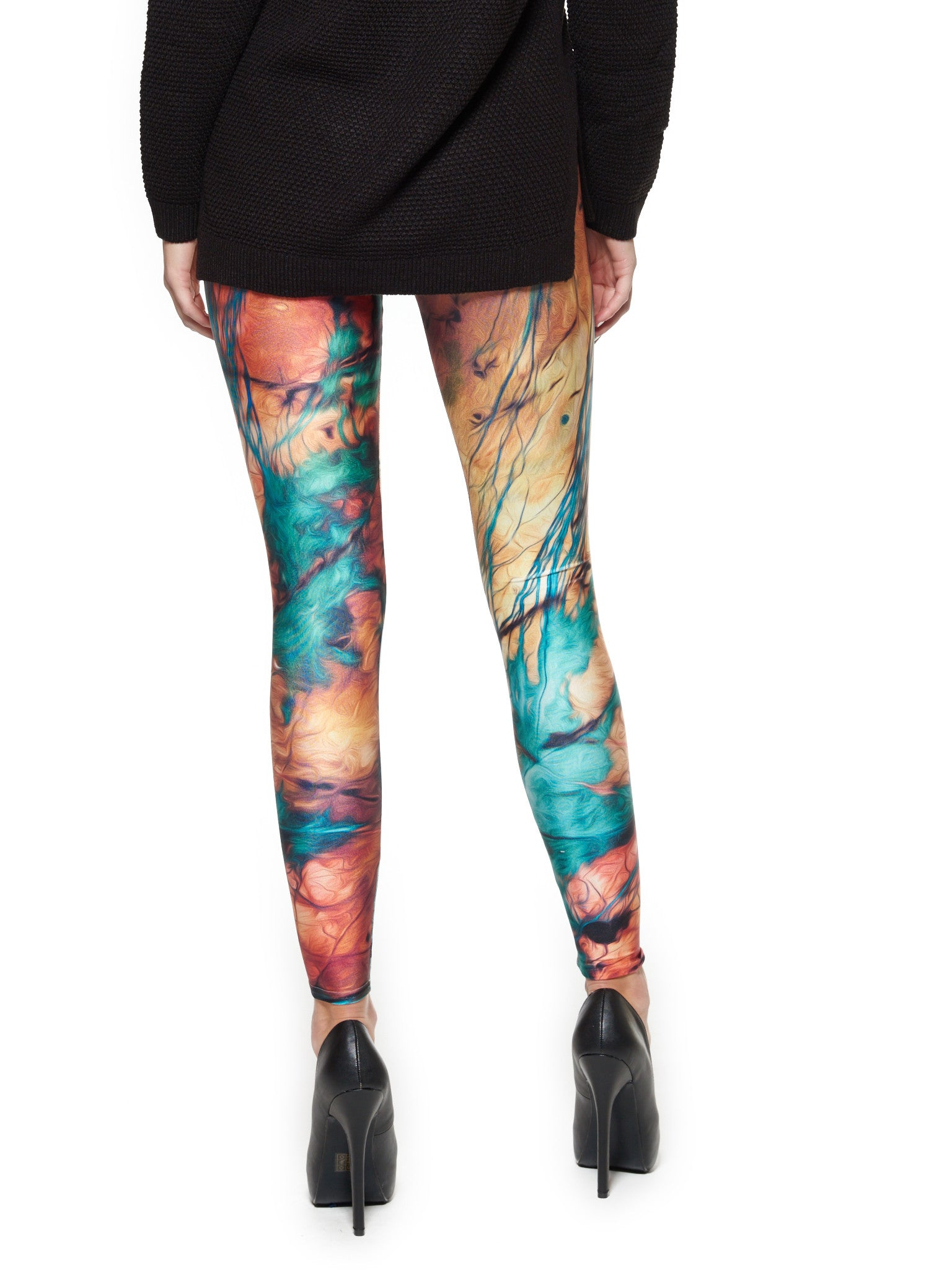 Petrified Mood Queen West Leggings - Nuvango  - 2