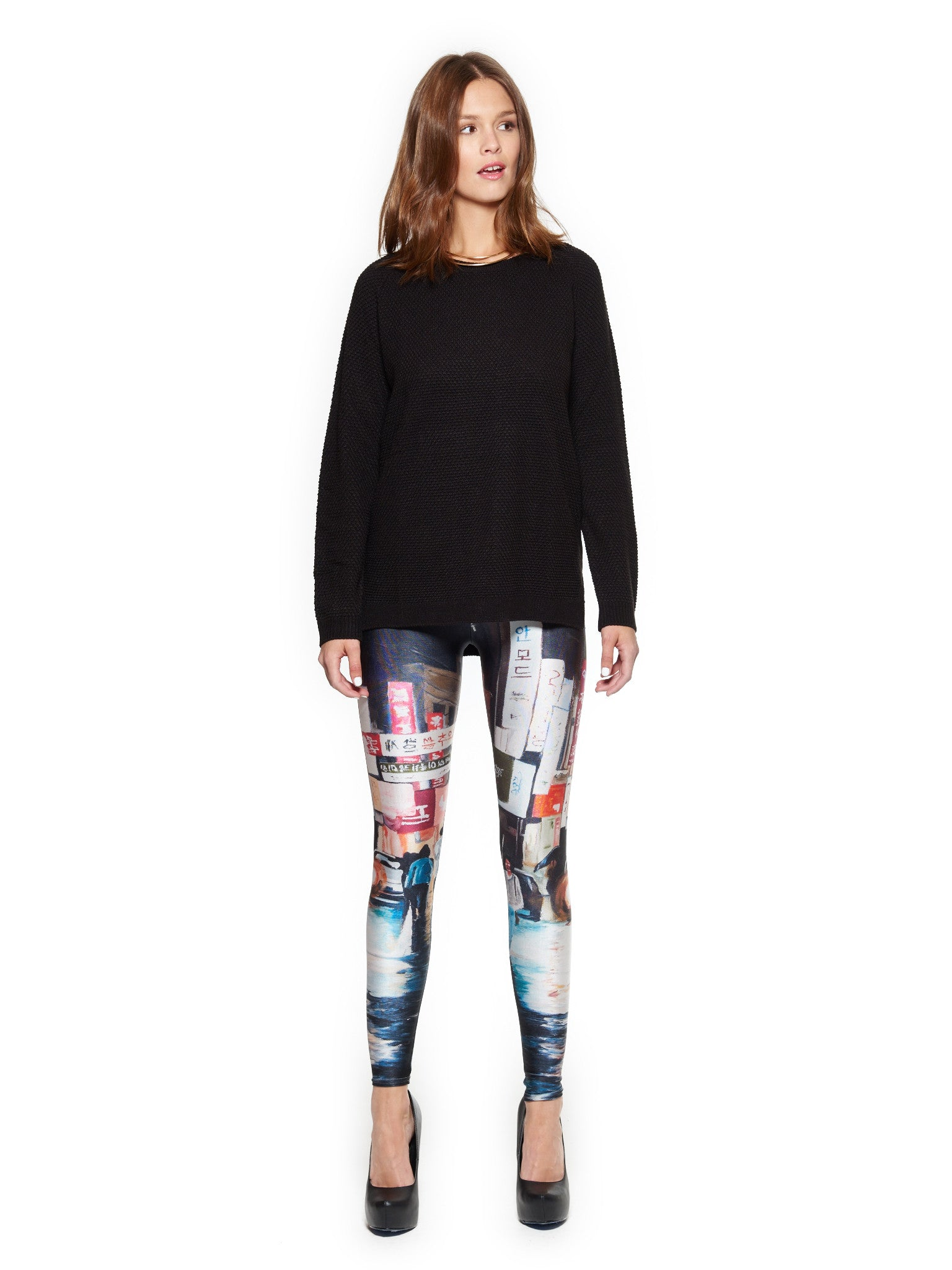 Reflections in Nonsan Queen West Leggings - Nuvango  - 1