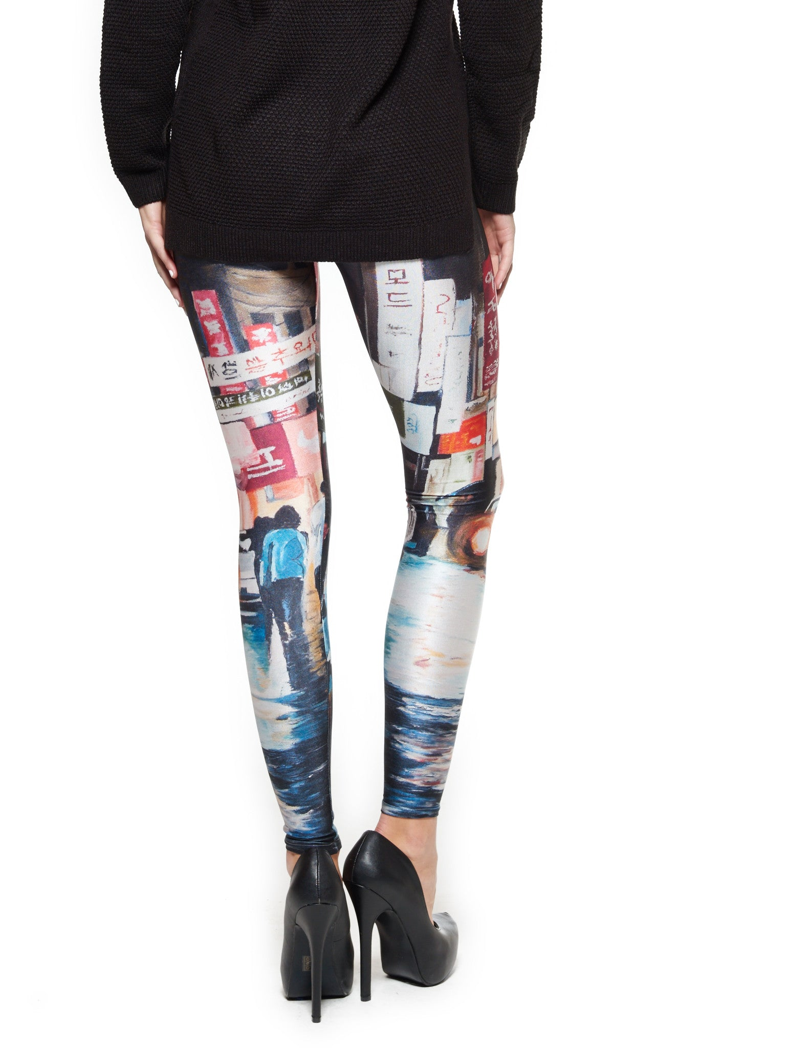 Reflections in Nonsan Queen West Leggings - Nuvango  - 2