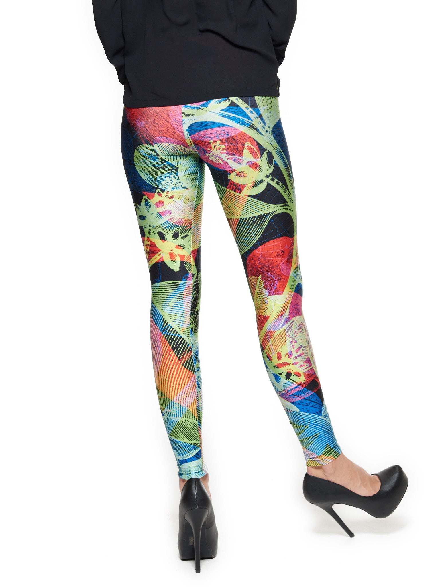 Selva Black Queen West Leggings - Nuvango  - 3