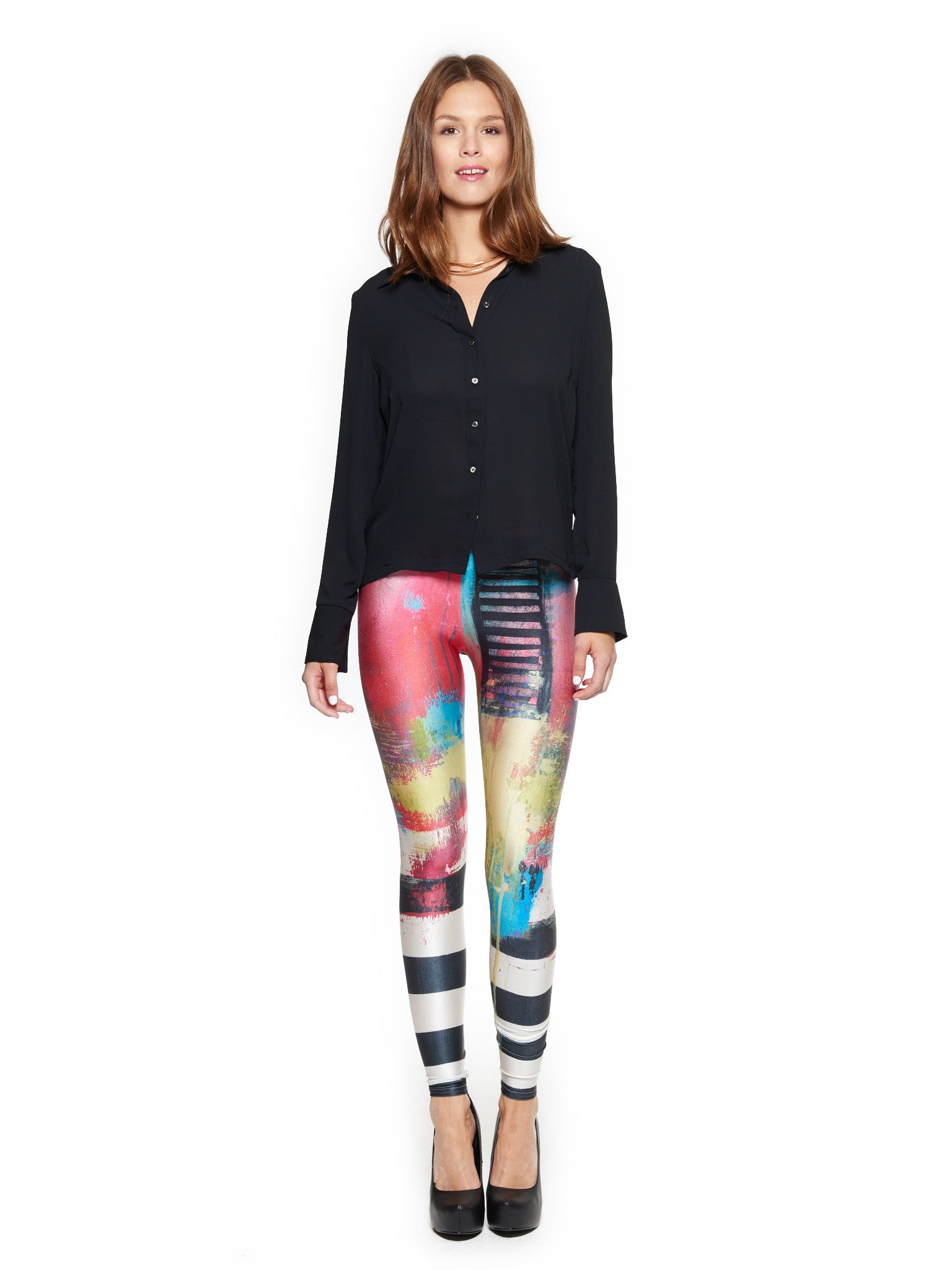 Say Something Queen West Leggings - Nuvango  - 1