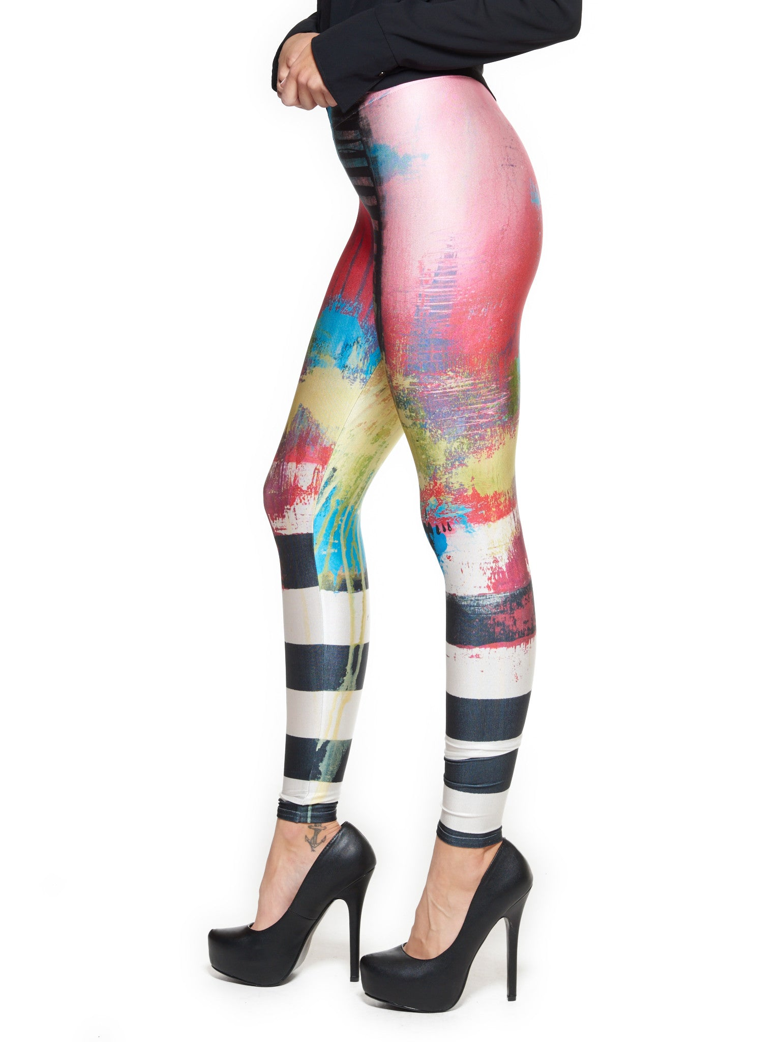 Say Something Queen West Leggings - Nuvango  - 4
