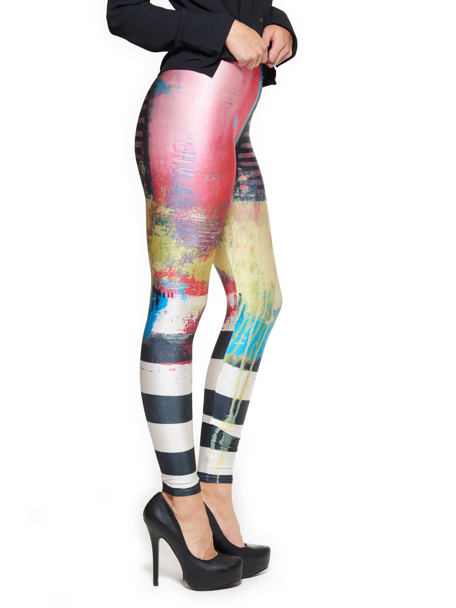 Say Something Queen West Leggings - Nuvango  - 2