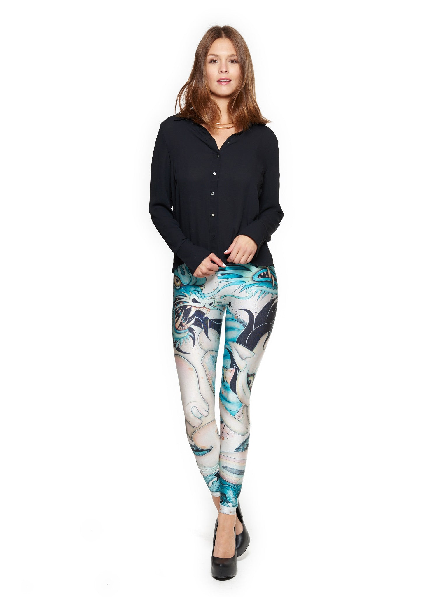 Epic Battle Queen West Leggings - Nuvango  - 1