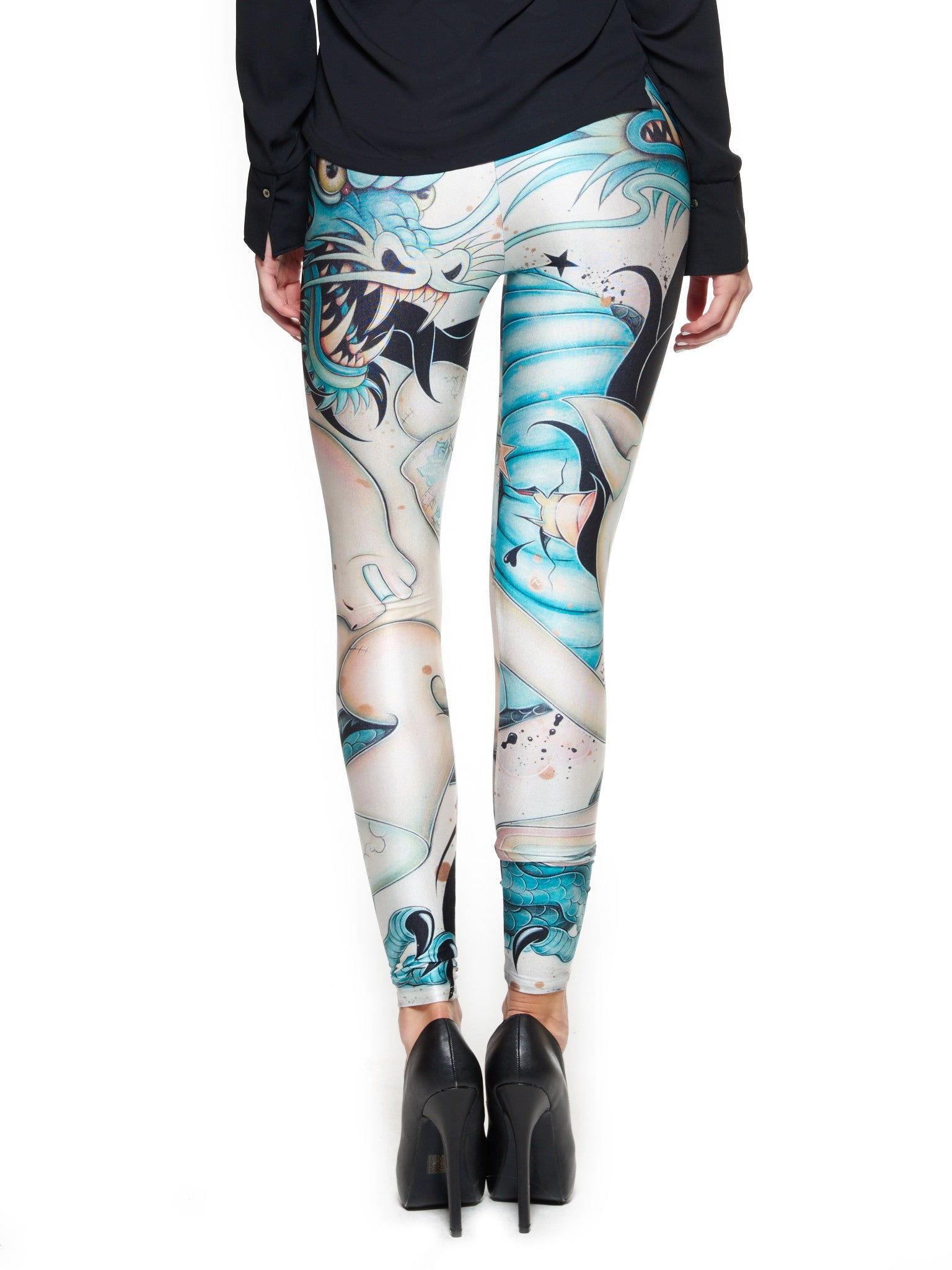 Epic Battle Queen West Leggings - Nuvango  - 3