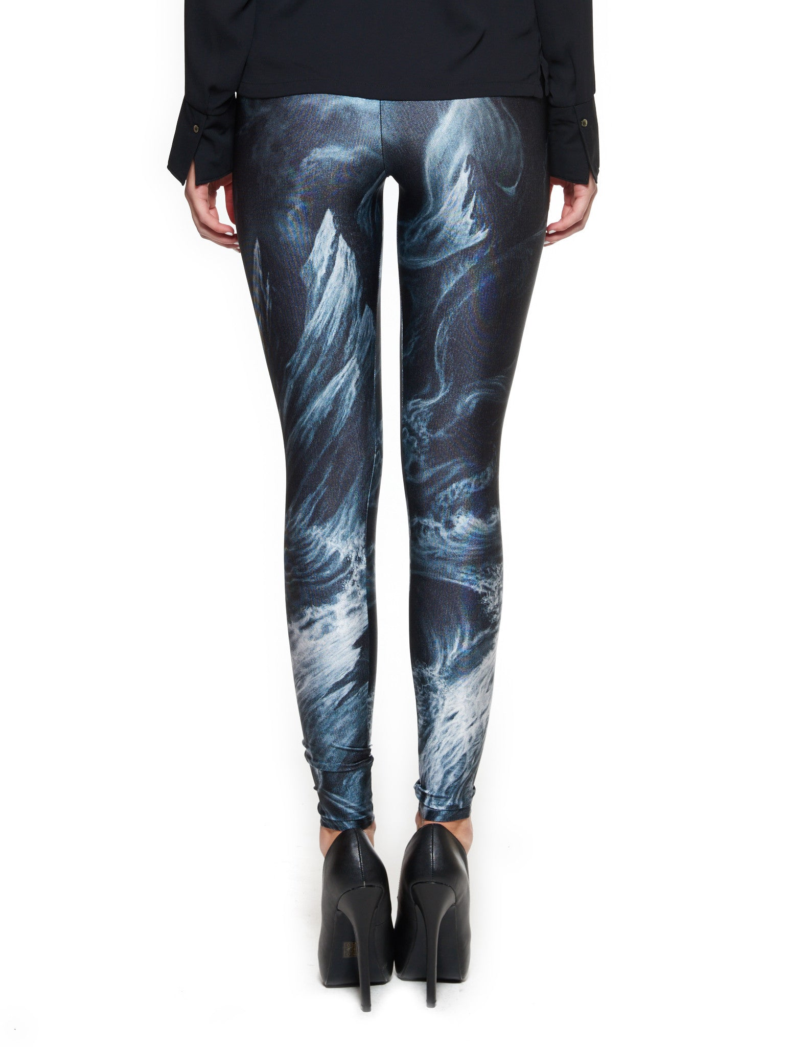 Lets Tear It All Down and Rebuild It With Meaning Queen West Leggings - Nuvango  - 3