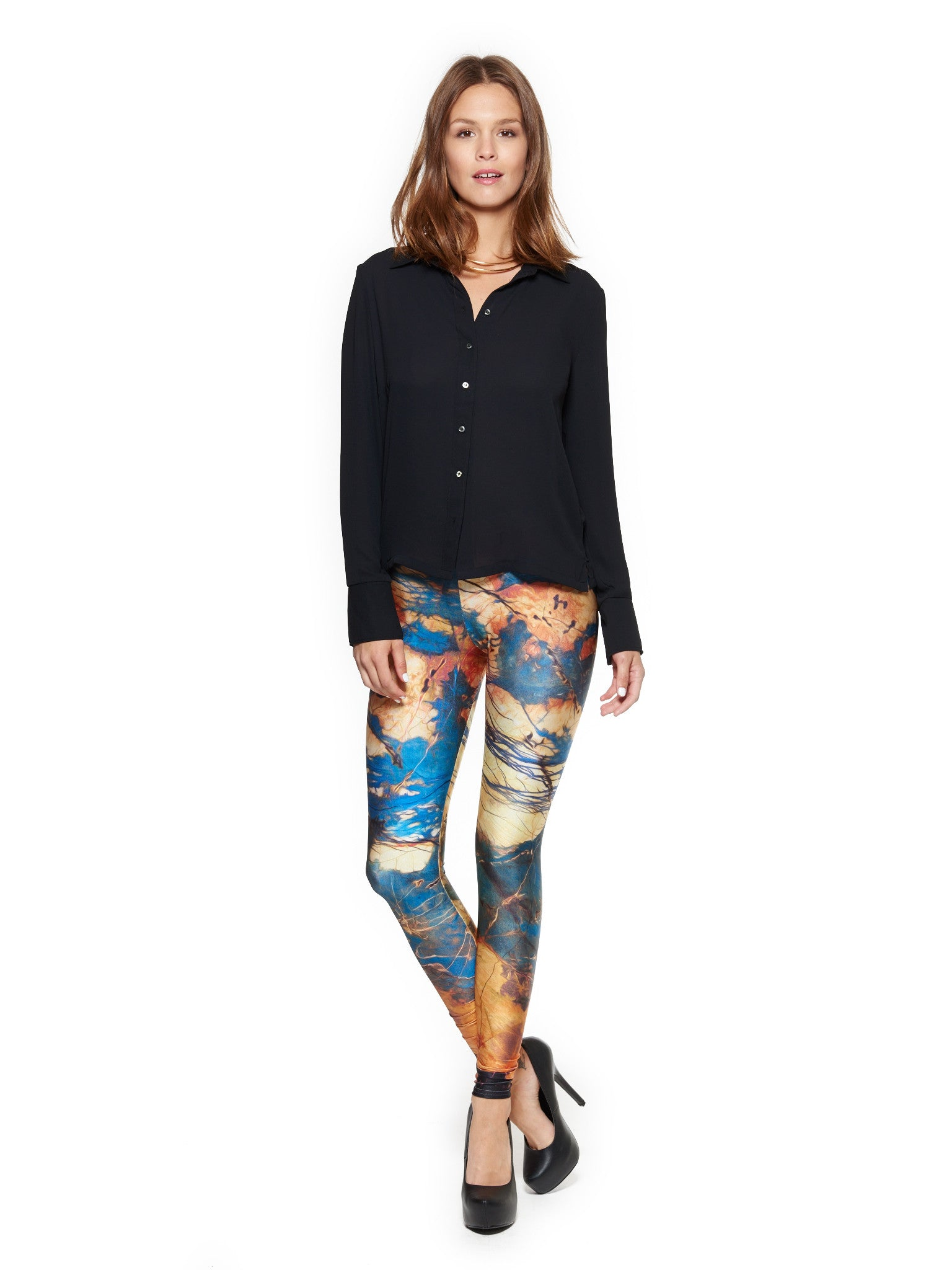 Clearly Knot Queen West Leggings - Nuvango  - 1