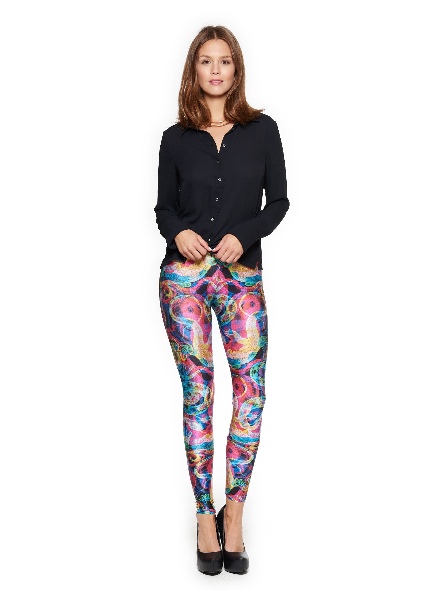 Damasco N.2 Queen West Leggings - Nuvango  - 1