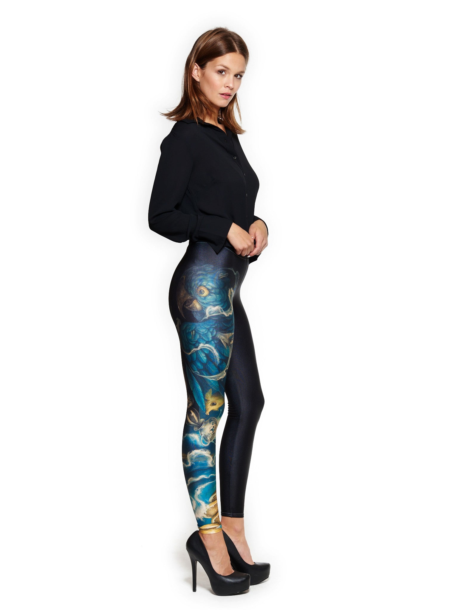 The Messenger Queen West Leggings CRAOLA LTD SERIES - Nuvango  - 1
