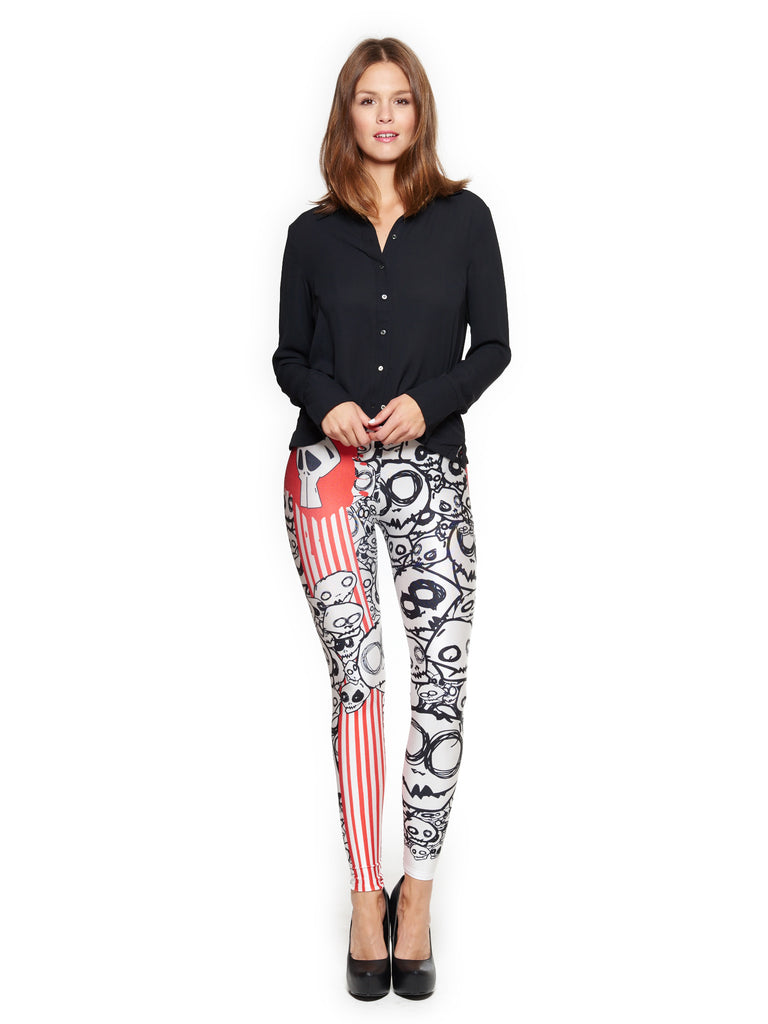 Monster Queen West Leggings - Nuvango  - 1