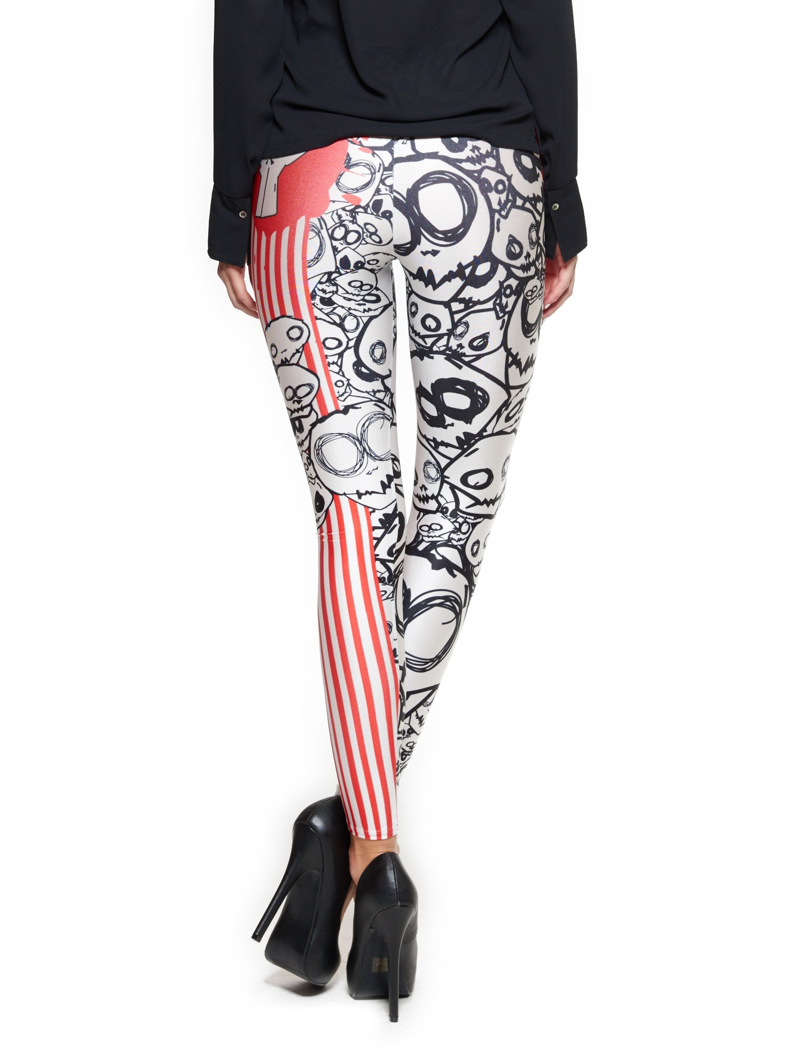 Monster Queen West Leggings - Nuvango  - 3