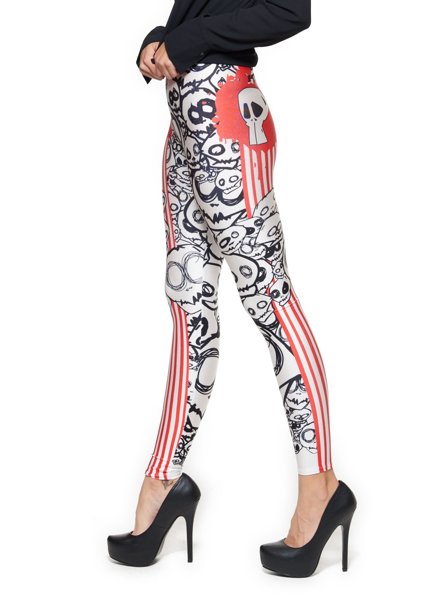 Monster Queen West Leggings - Nuvango  - 4