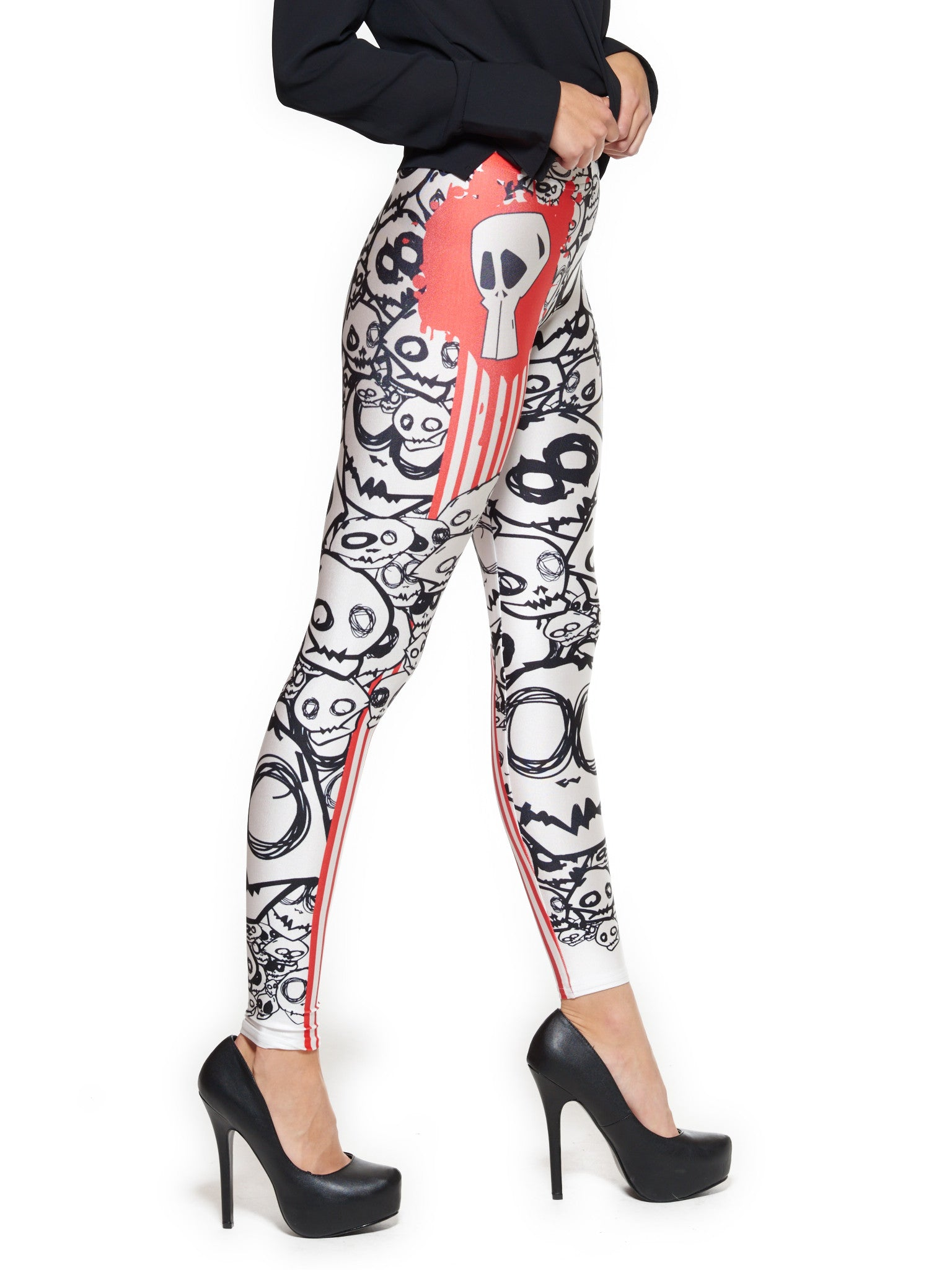 Monster Queen West Leggings - Nuvango  - 2