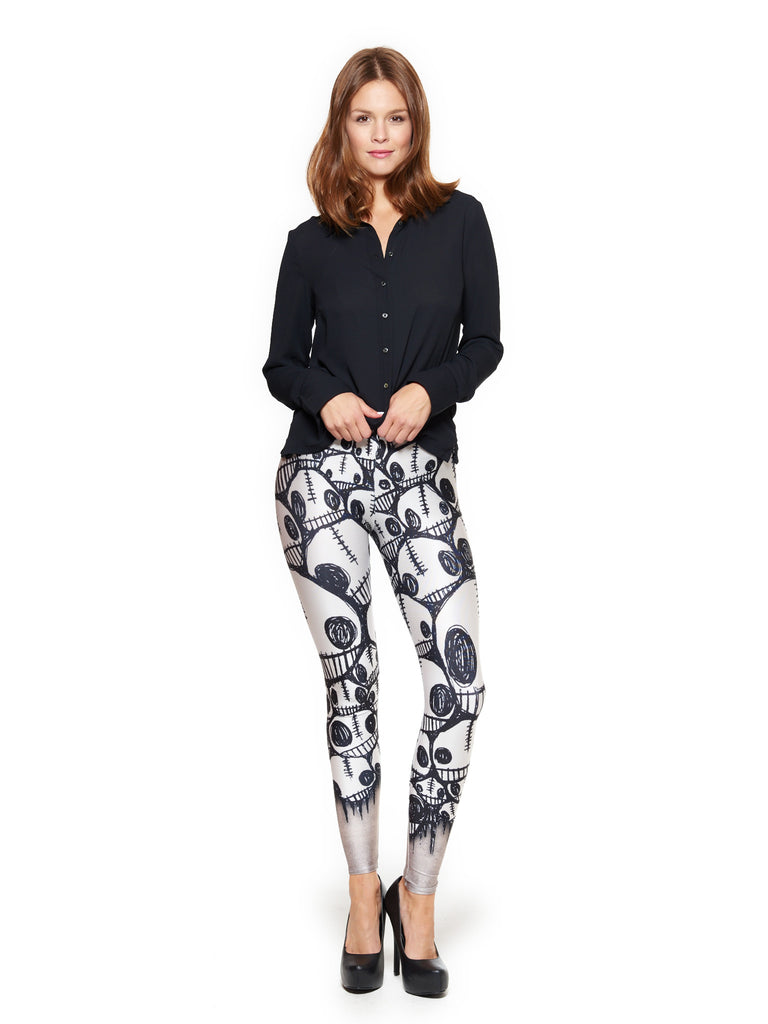 Little Monster Faces Queen West Leggings - Nuvango  - 1