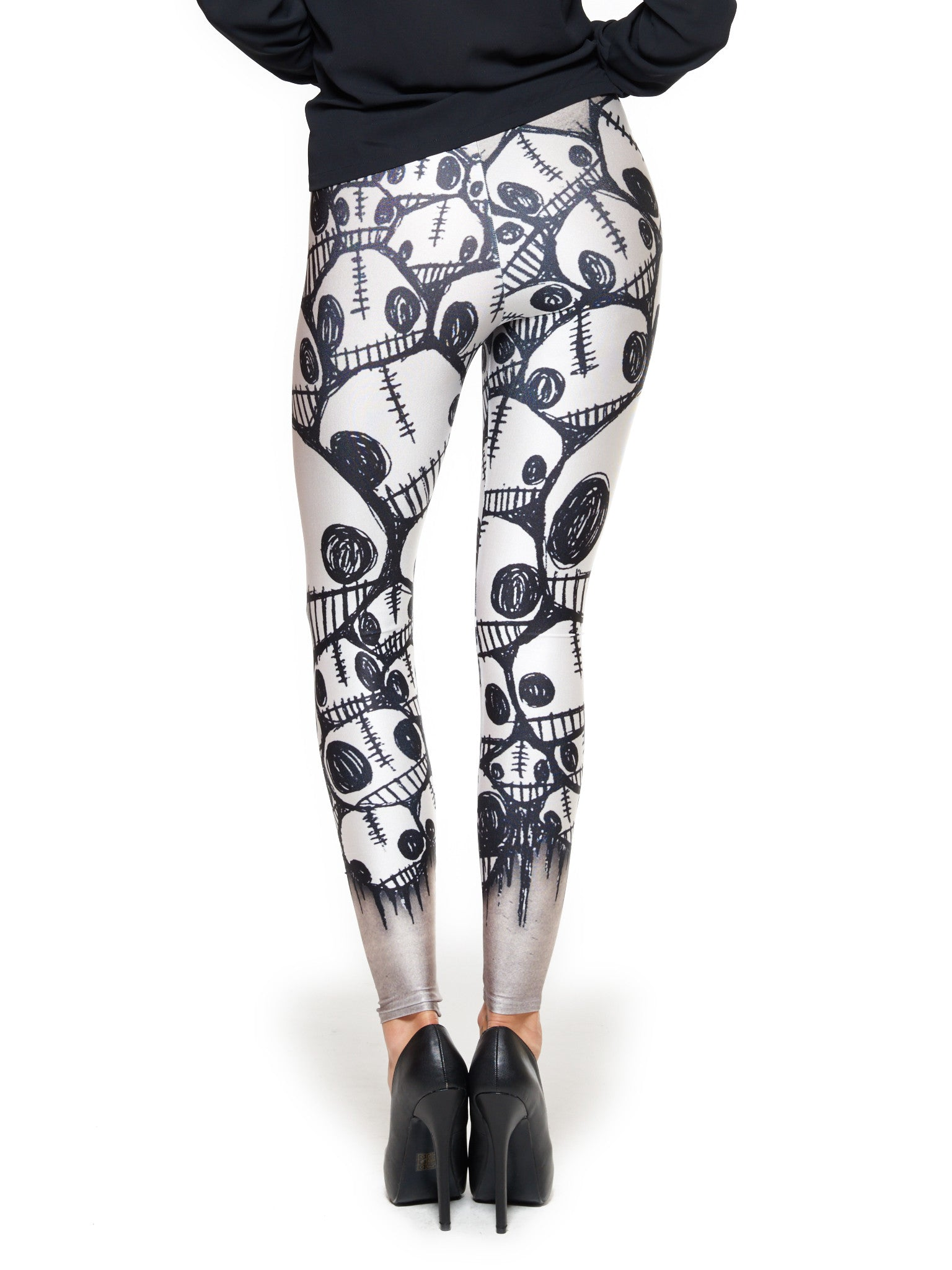 Little Monster Faces Queen West Leggings - Nuvango  - 3