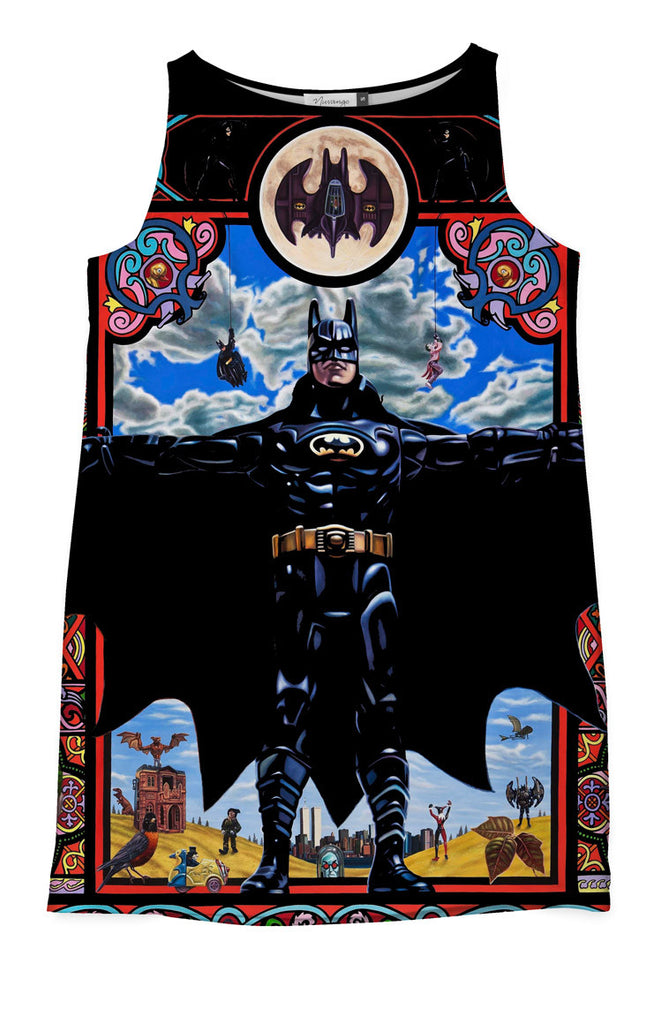 The Holy Batman Shift Dress
