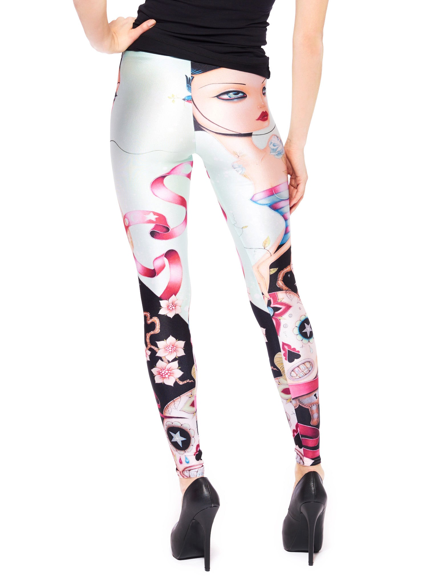 Dream Escape Queen West Leggings - Nuvango  - 3