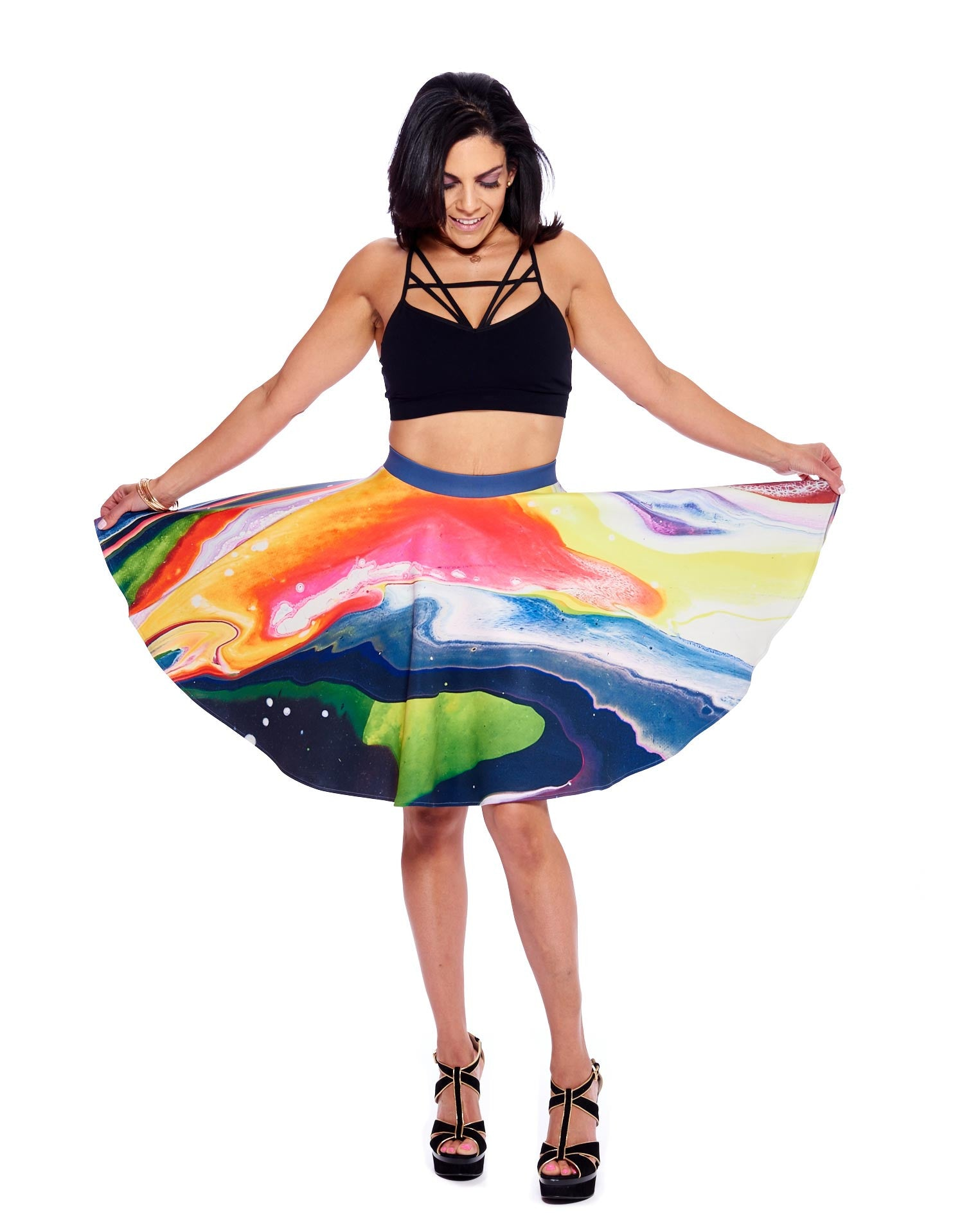 New Planet II Circle Skirt