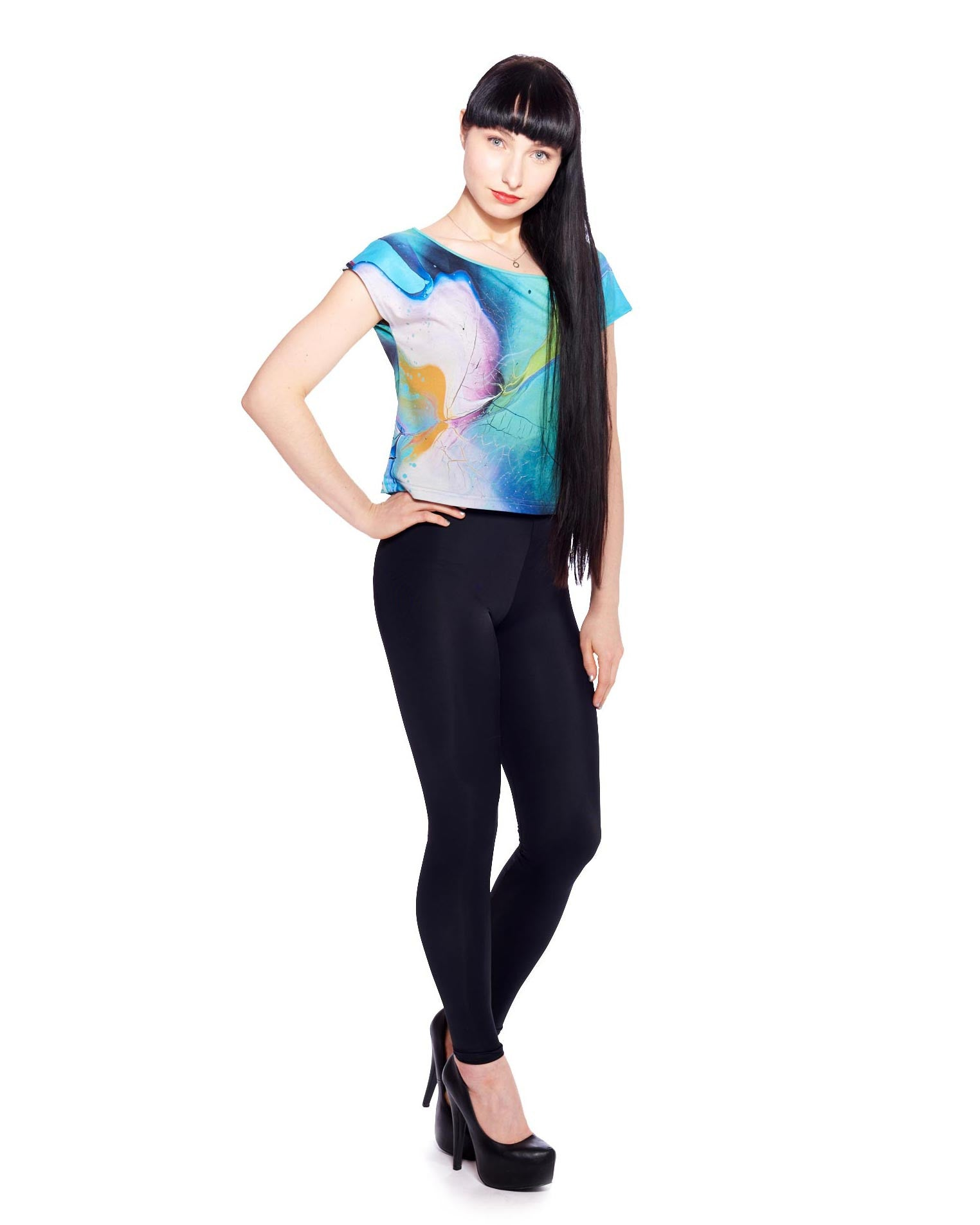 Superterrestrial Growth Women's Crop Top