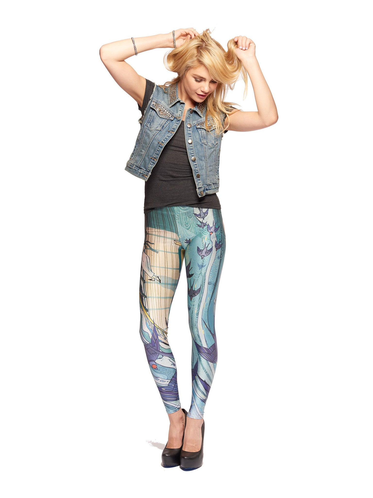 Cassarole Queen West Leggings - Nuvango  - 1