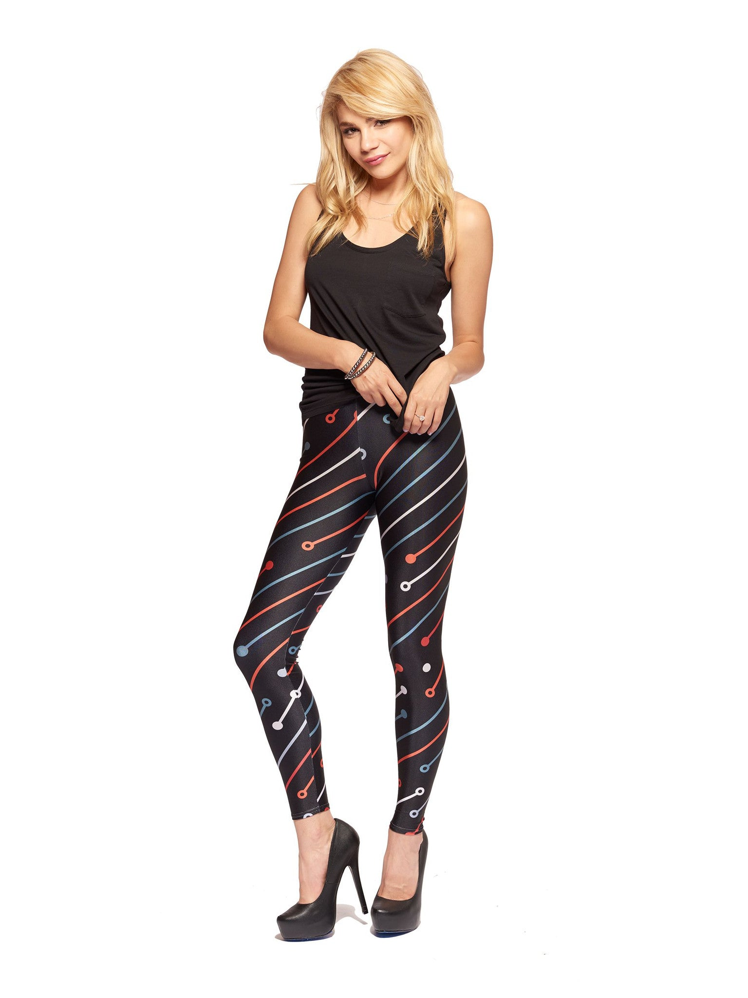 Circuitry Queen West Leggings - Nuvango  - 1