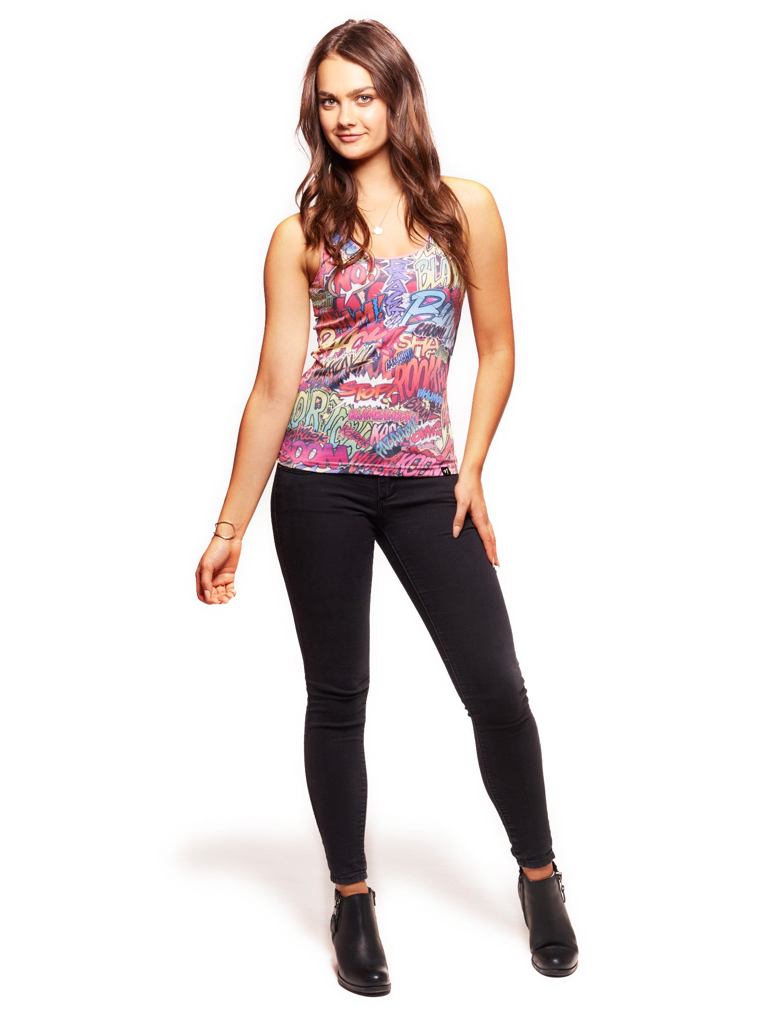 Action Packed Women's Trinity Tank - Nuvango  - 3