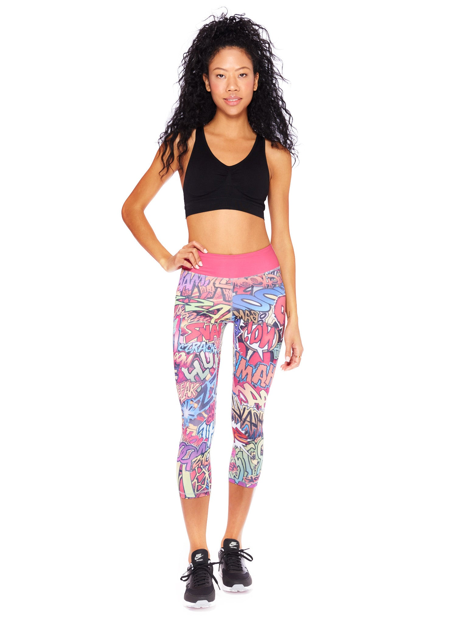Action Packed Crop Leggings