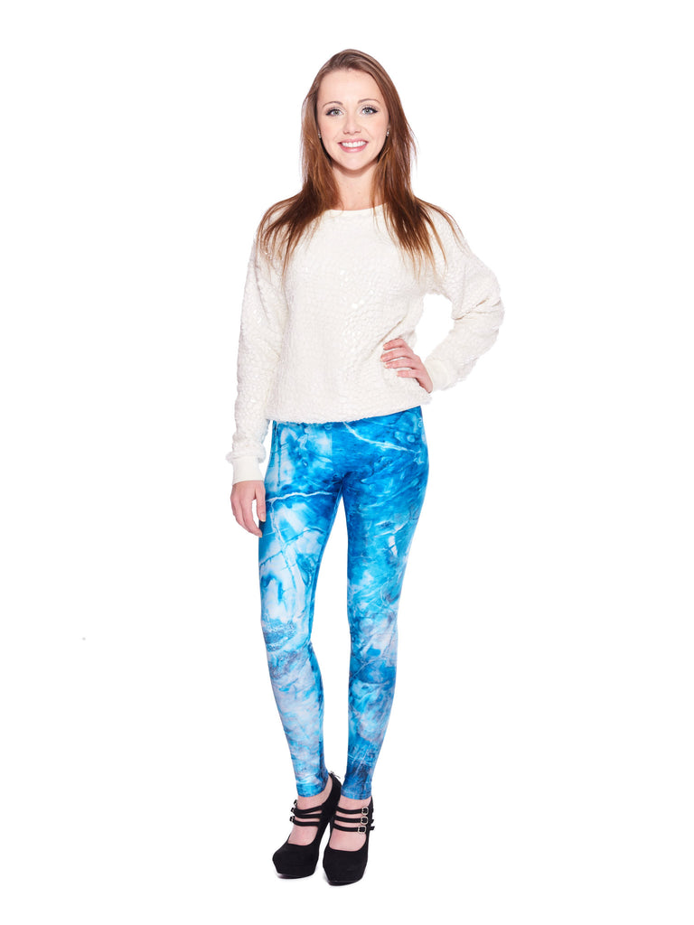 Frozen Galaxy Queen West Leggings - Nuvango  - 1