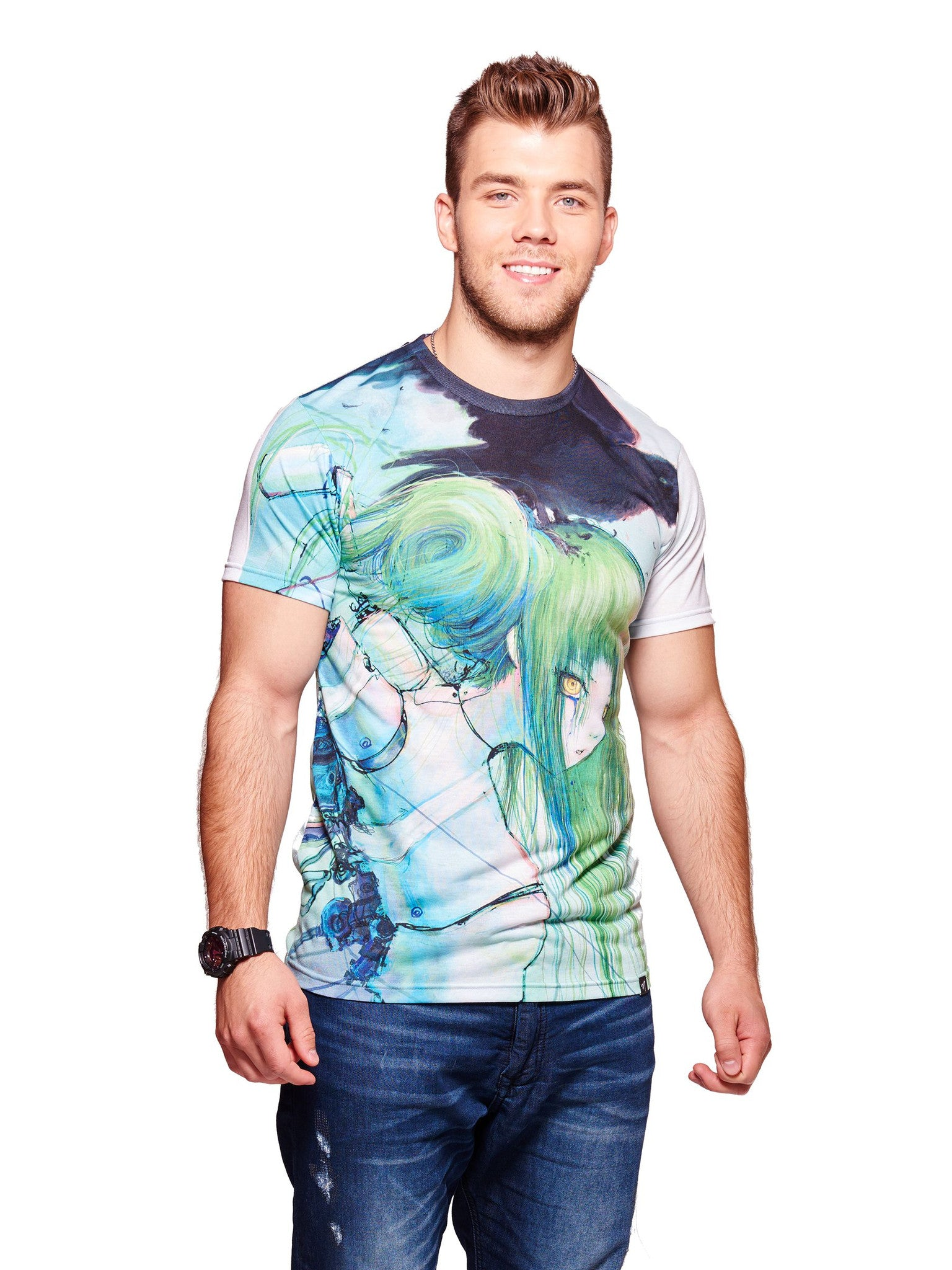 Disassembled Tears Men's Classic T-Shirt - Nuvango  - 1