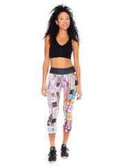 City Lights Crop Leggings
