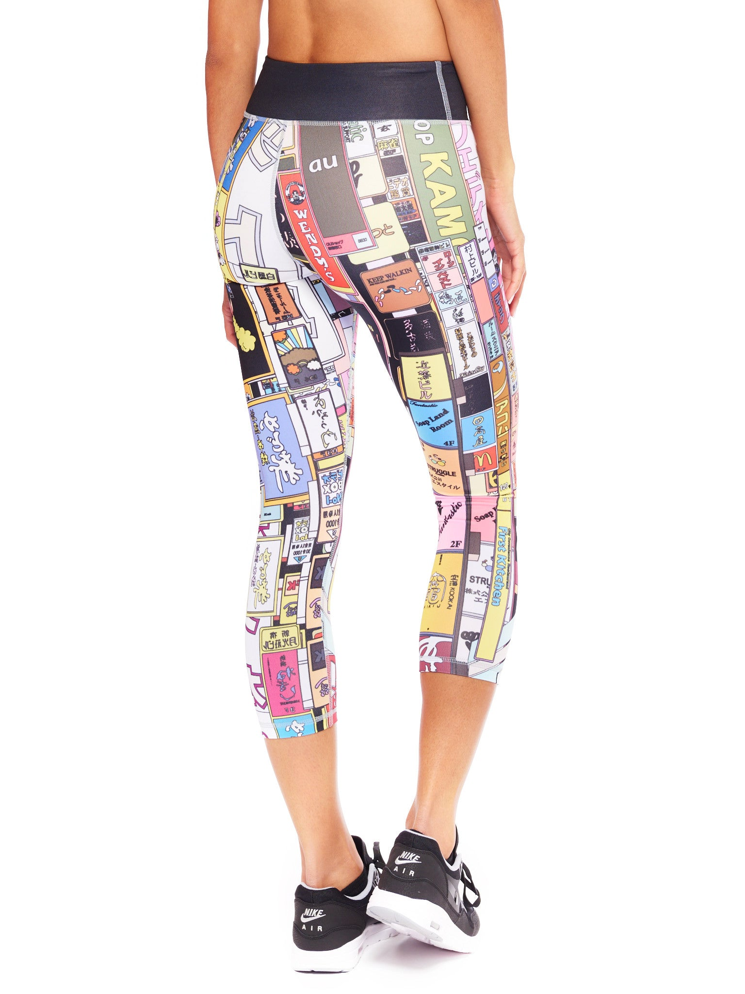 City Lights Activewear Crop Leggings