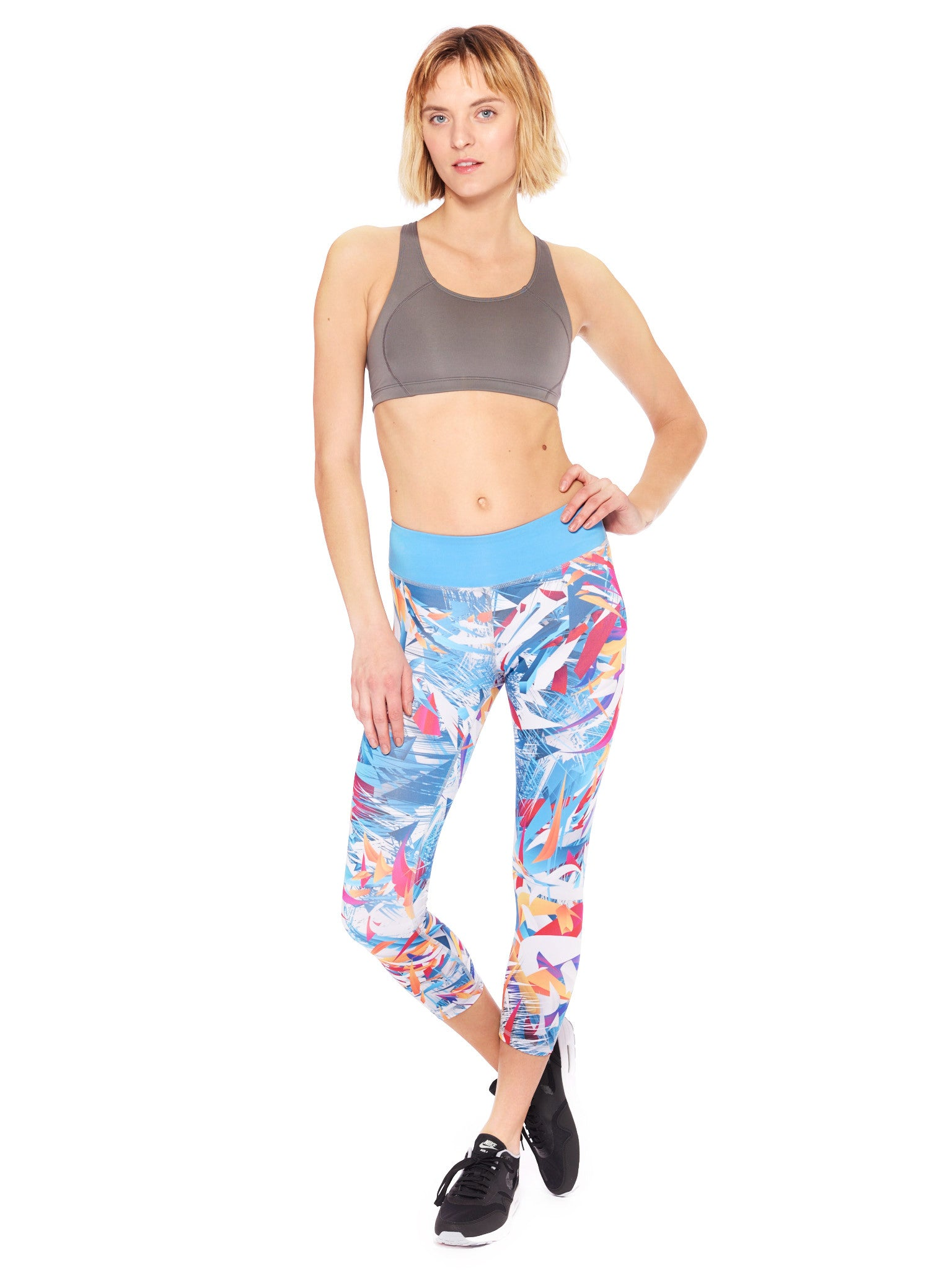 Excited Colours Crop Leggings