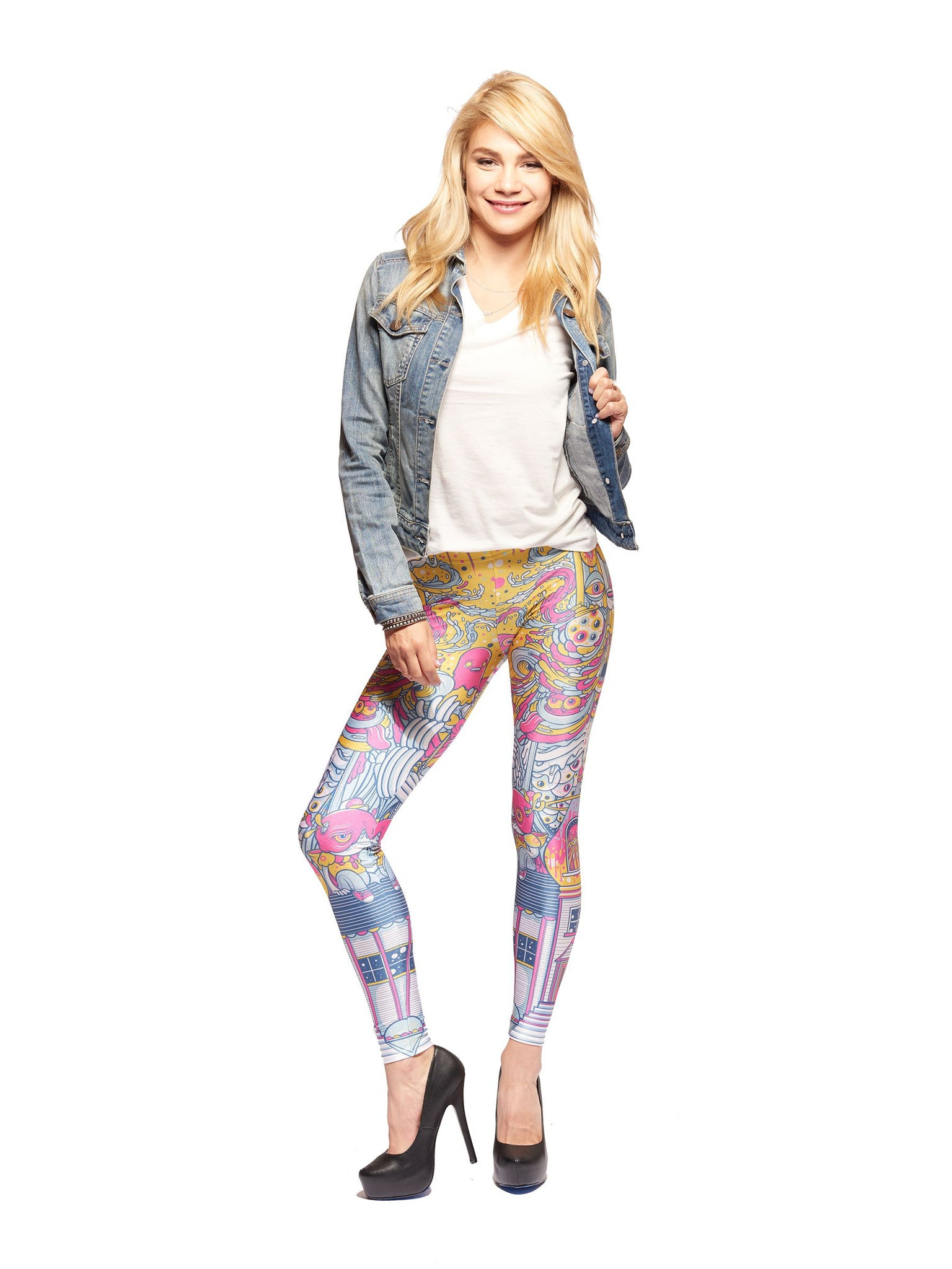 Fun House Queen West Leggings - Nuvango  - 1