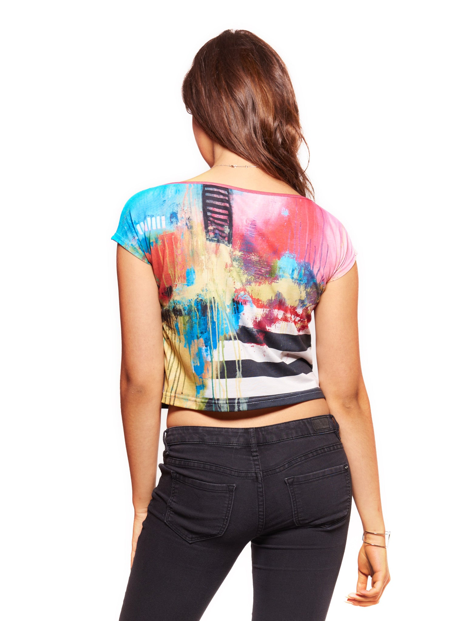 Say Something Women's Crop Top - Nuvango  - 2