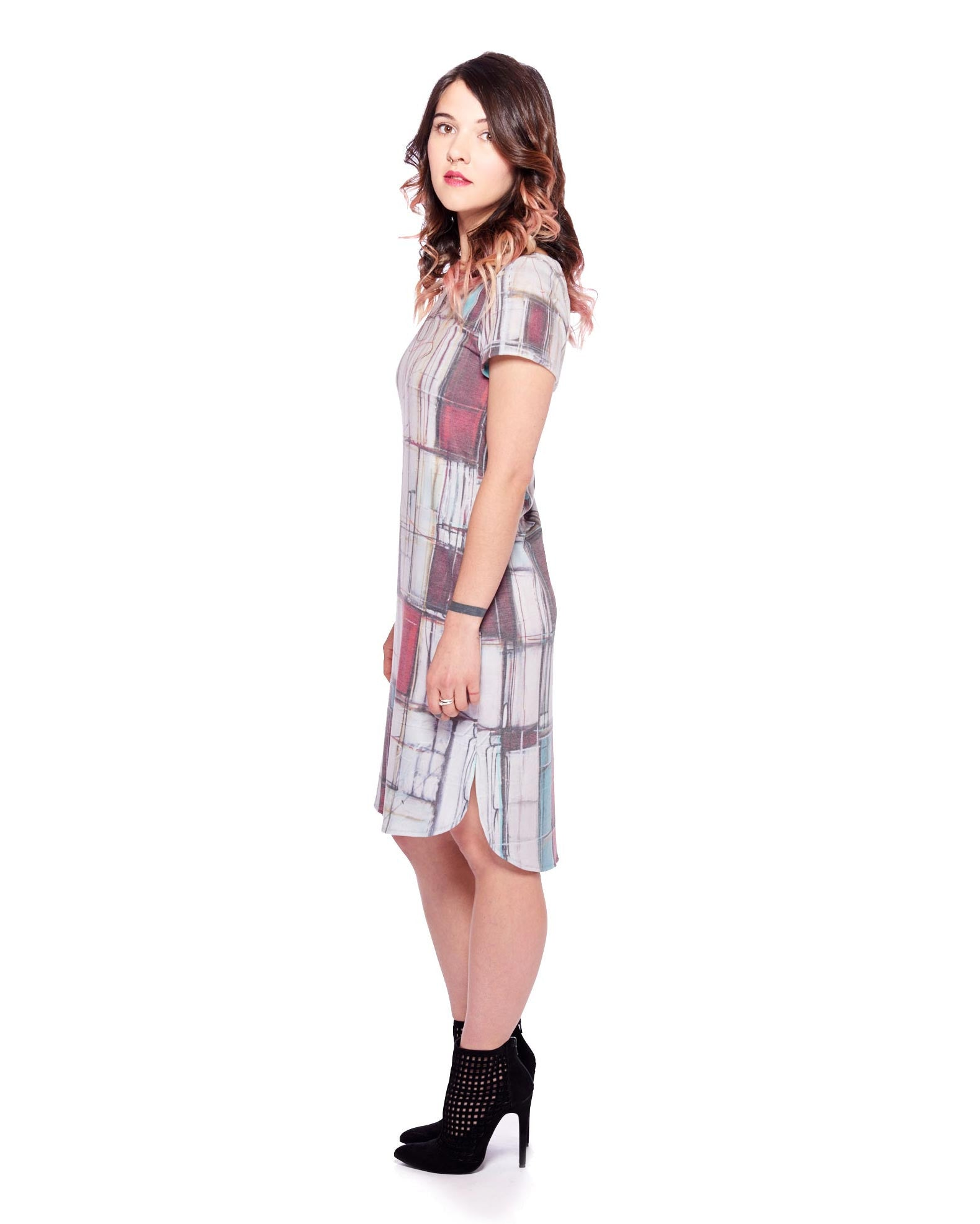 Midnight Waltz Tee Dress