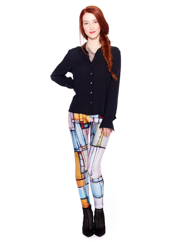 Shall We Dance Queen West Leggings