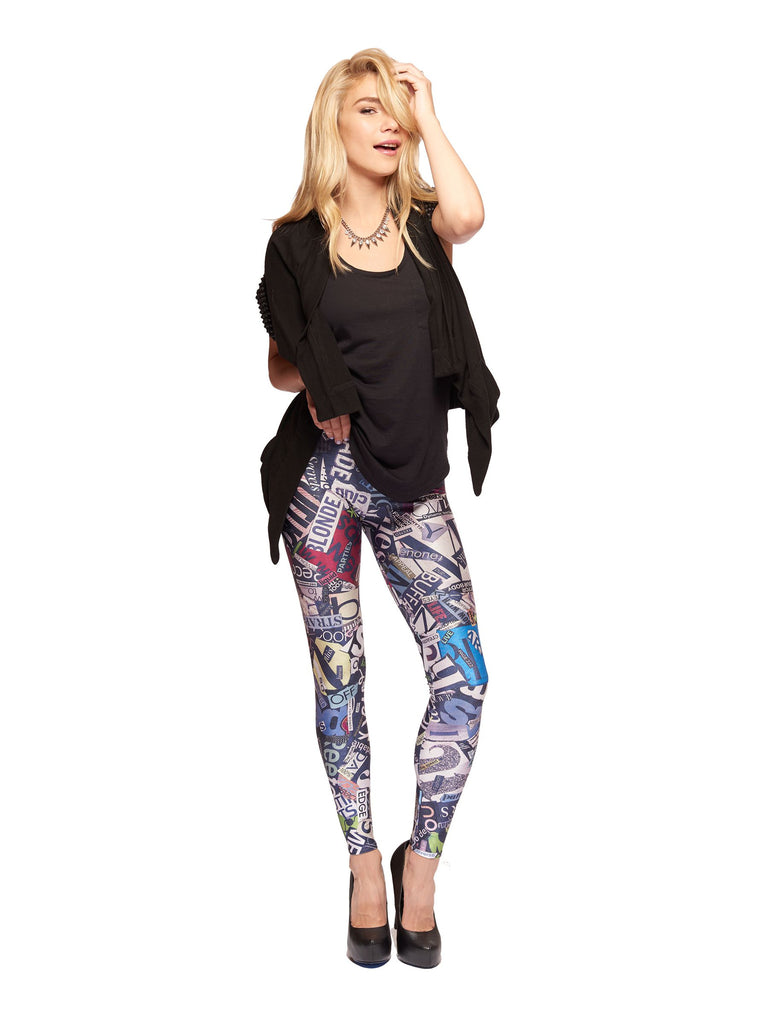 Love Letters Queen West Leggings - Nuvango  - 1