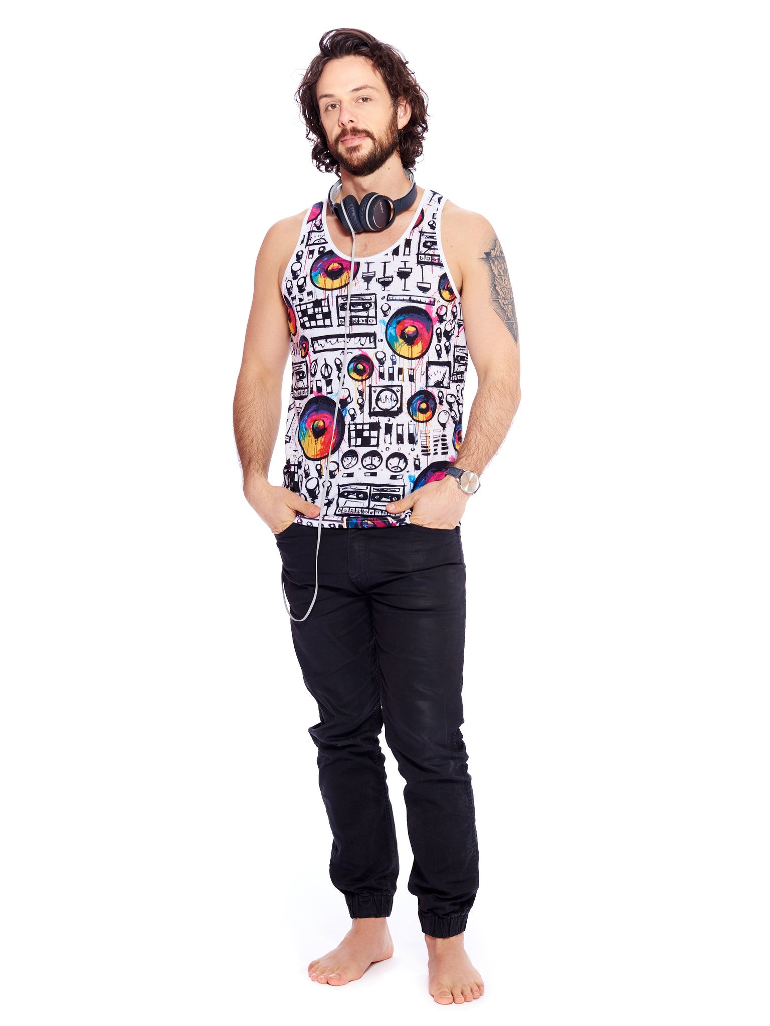 Speaker Wall Men's Classic Tank