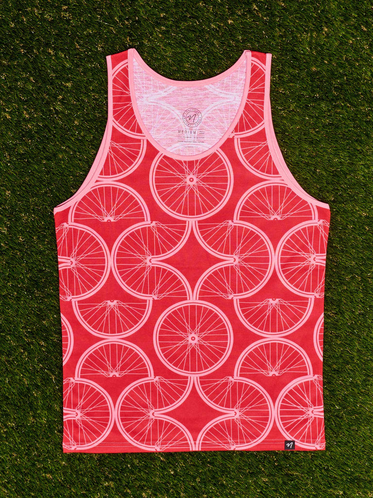 Bike Pattern Men's Classic Tank