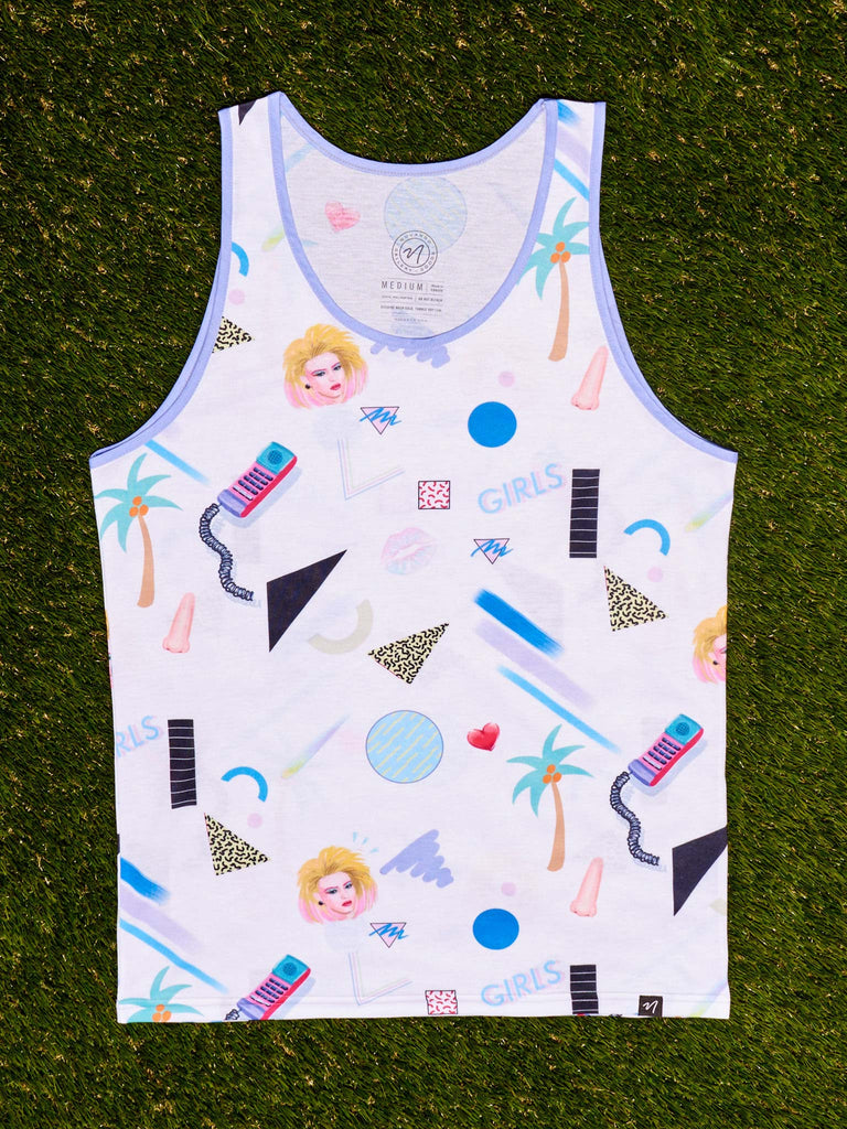 Girls  Men's Echo Beach Tank